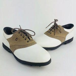 Women's Footjoy Leather Golf Shoes Size 9